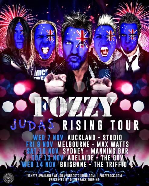 Fozzy Tour 2018