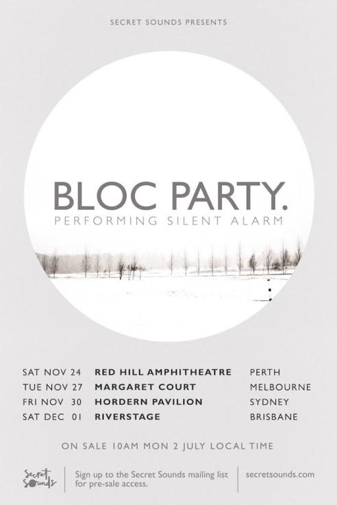 block party - silent alarm tour