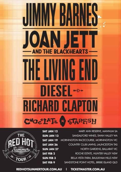 red hot summer 19