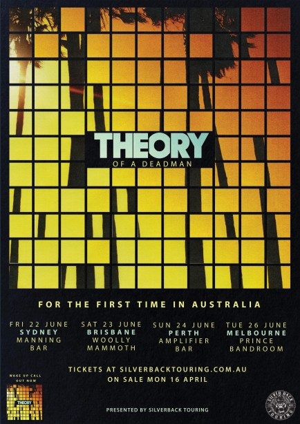 theory of a deadman aus tour
