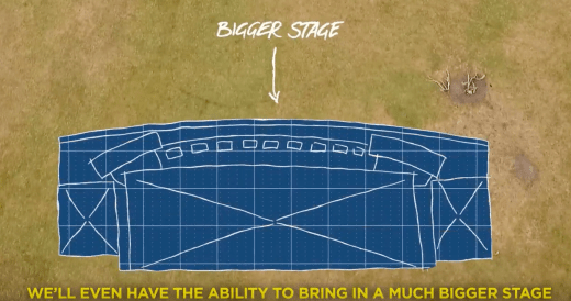 UNIFY 2019 - New Stage Plans