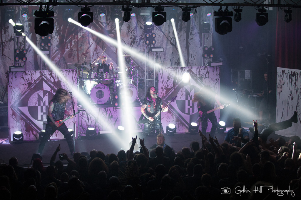 Machine Head - Photo Gallery 18th July @ Eatons Hill Hotel, Brisbane QLD