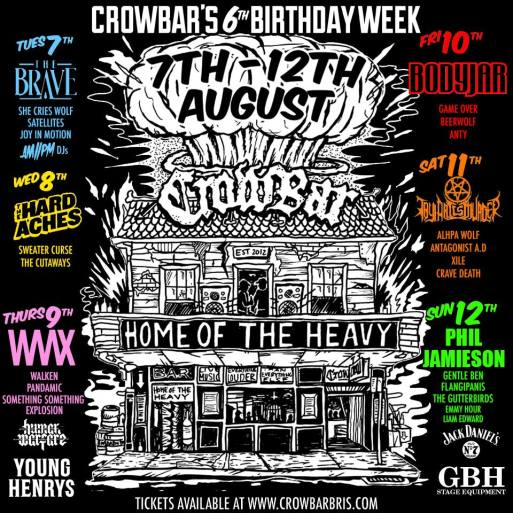 crowbar birthday 6
