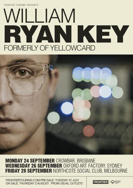 william ryan key tour