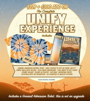 UNIFY COMPLETE Experience Tix