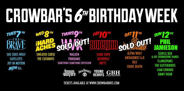 crowbar bday new