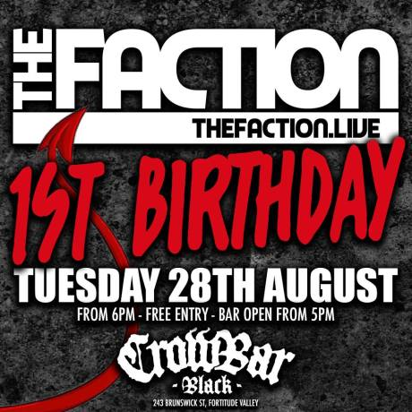 faction bday