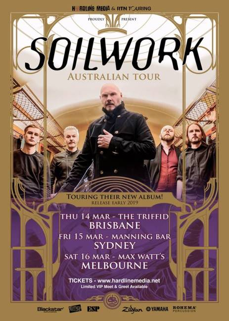 Soilwork Australian East Coast Tour