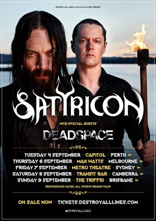 satyricon tour sept