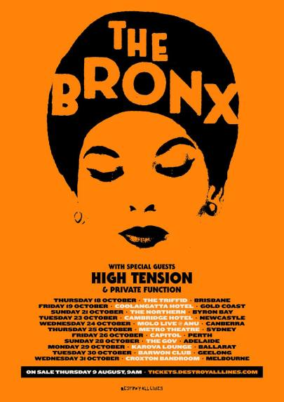 the bronx 18 tour
