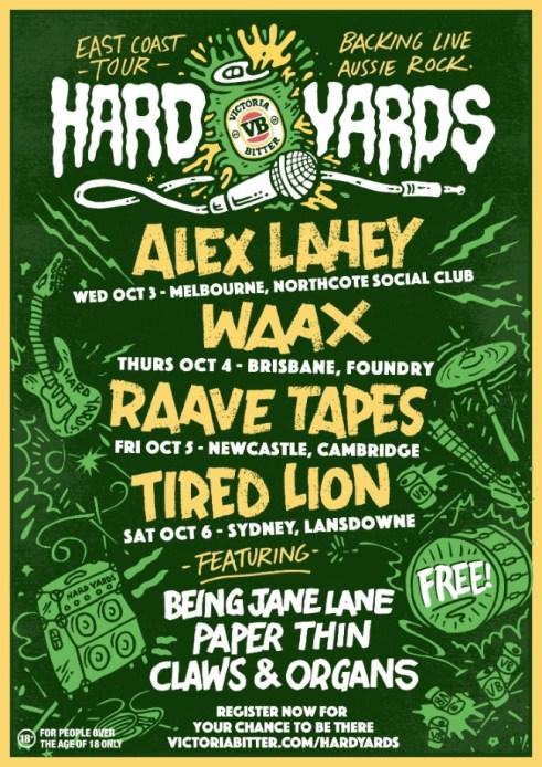 VB Hard Yards Tour 2018