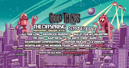 good things festival lineup poster