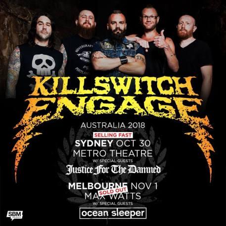 killswitch engage tour aus