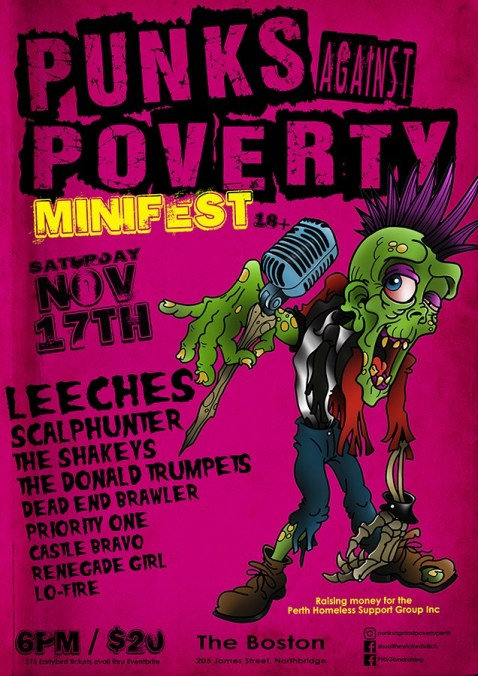 punks against poverty show