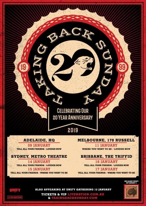 taking back sunday 2019 tour