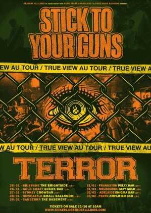 stick to your guns terror tour