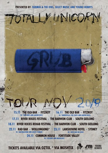 Totally Unicorn - Grub Tour
