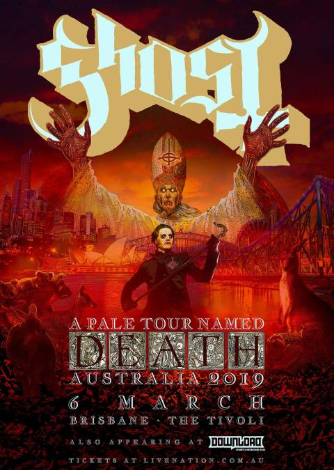 Tobias Forge (aka Cardinal Copia) – Ghost (Audio Interview
