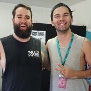 Browny with Marcus Bridge of Northlane