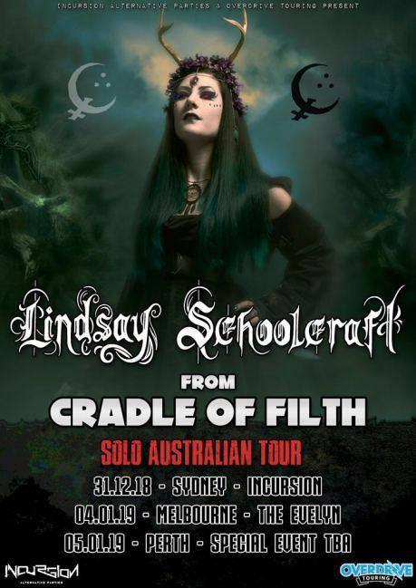 Lindsay Schoolcraft Aussie tour NY 2018-19