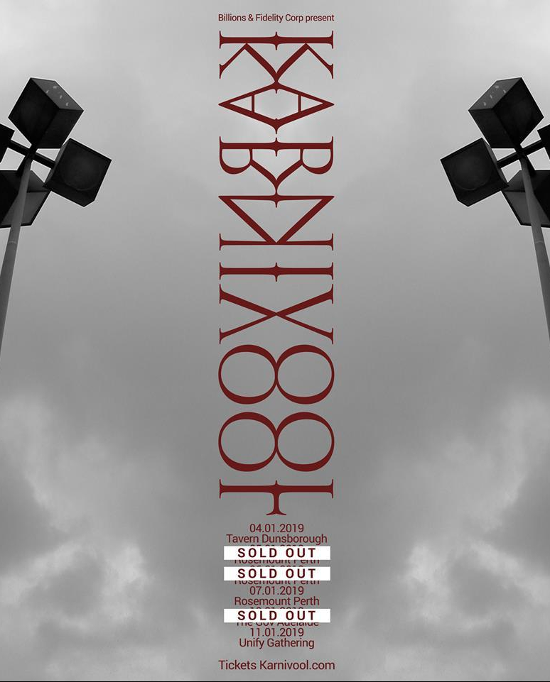 karnivool road to unify tour