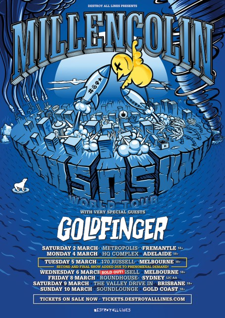 millencolin tour new