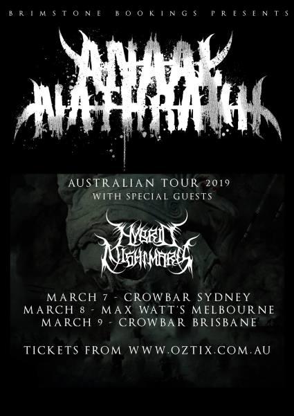 Anaal Nathrakh tour