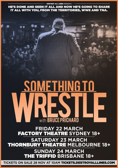 Bruce Prichard Something To Wrestle With LIVE March 2019