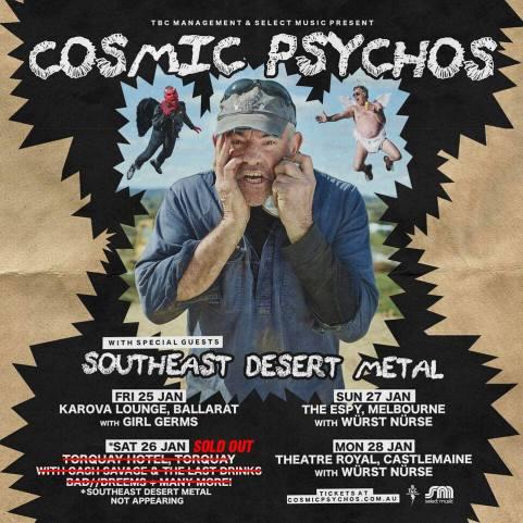 cosmic psychos tour