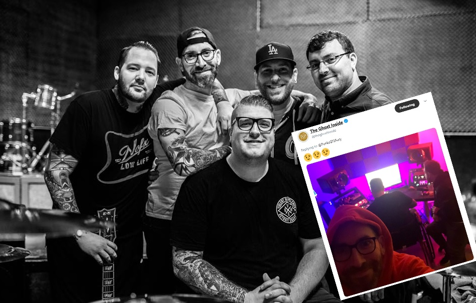 STOP EVERYTHING: It looks like The Ghost Inside are working on new music!!!!
