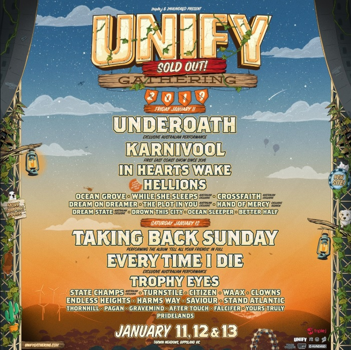 unify sold out
