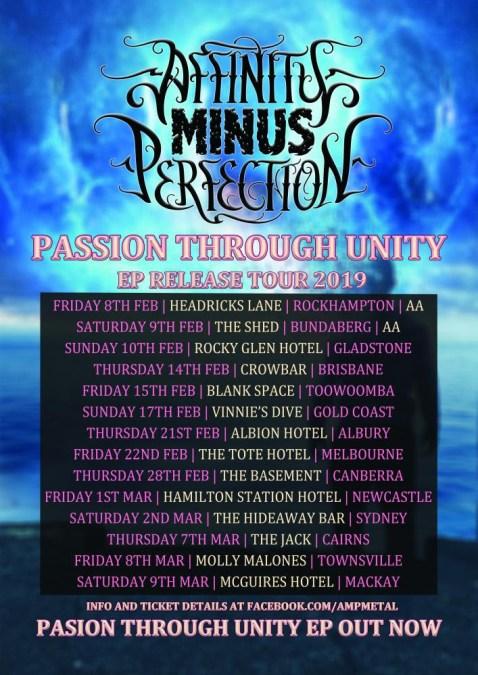 Affinity Minus Perfection Tour 2019