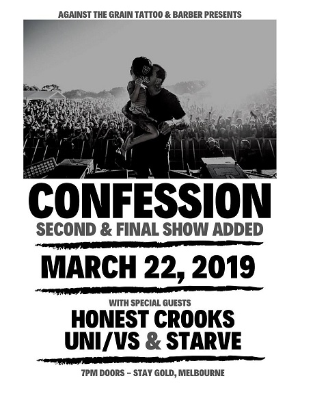 confession show march 22