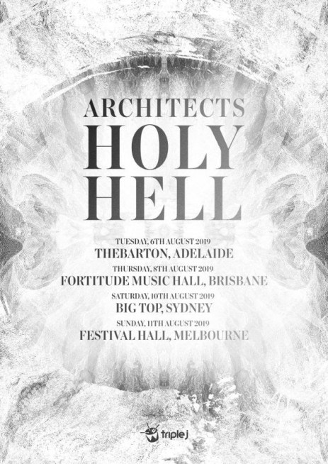 architects australian tour 2019