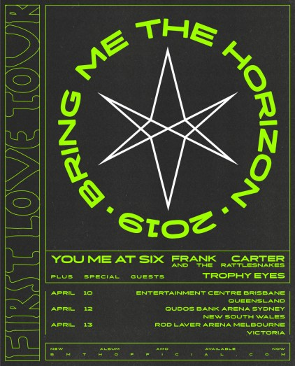 bring me the horizon 2019 aus tour