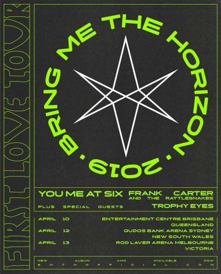 bring me the horizon 2019 aus tour