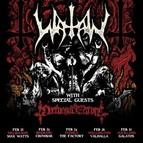 watain tour