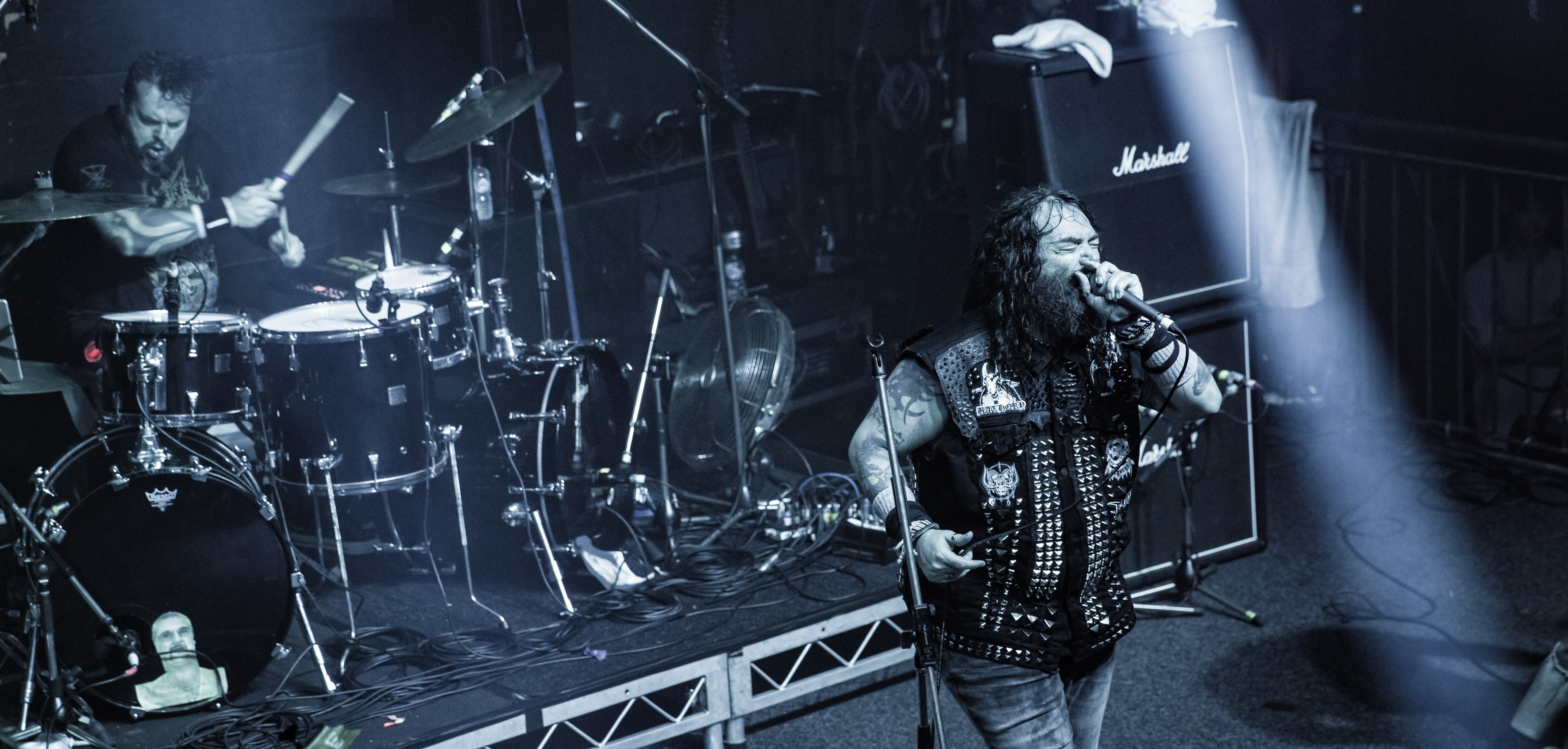Max & Iggor Cavalera. Photo by Den Rad