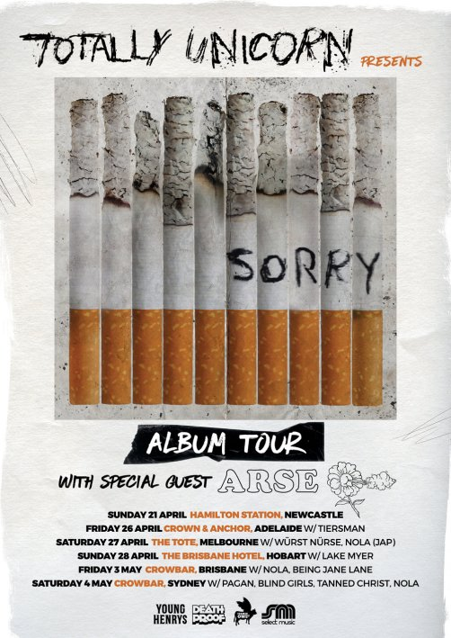 TotallyUnicornAlbumTour