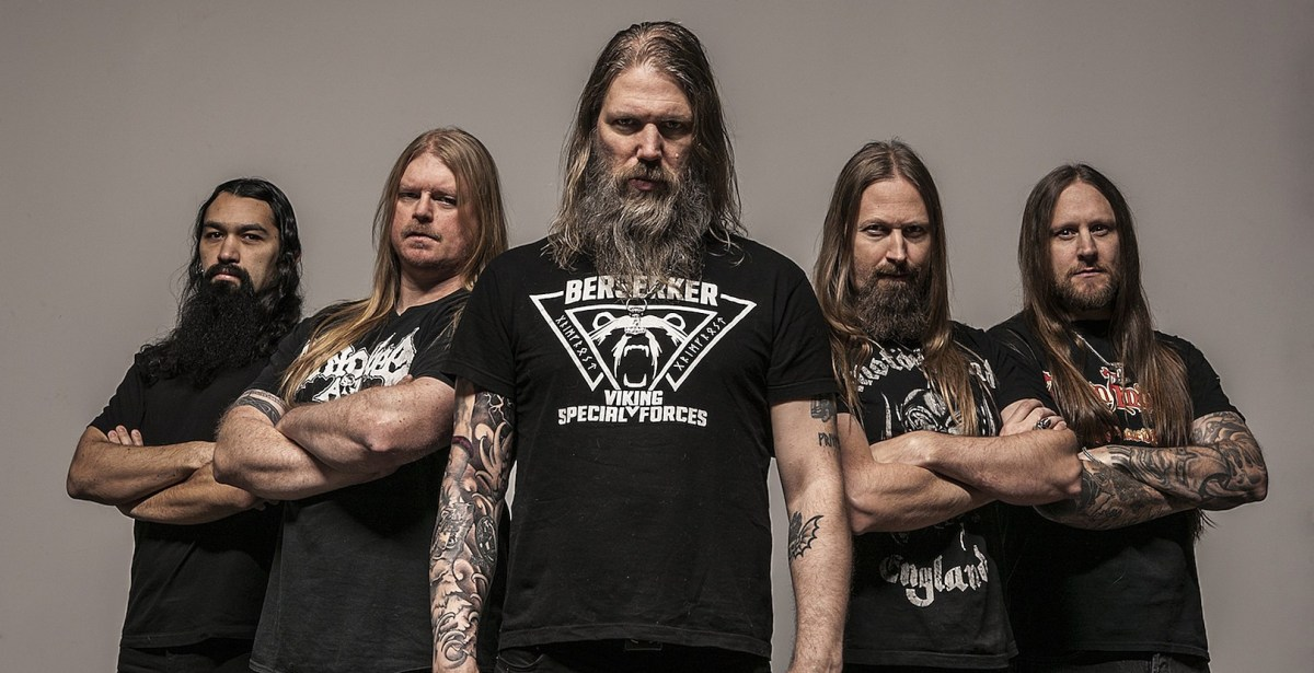 Amon Amarth drop riff-heavy new song 'Crack the Sky'