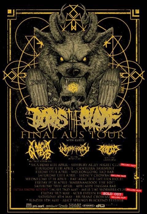 boris the blade final tour new