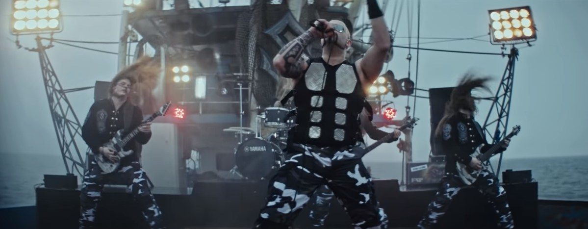 Sabaton release new standalone single/video 'Bismarck'