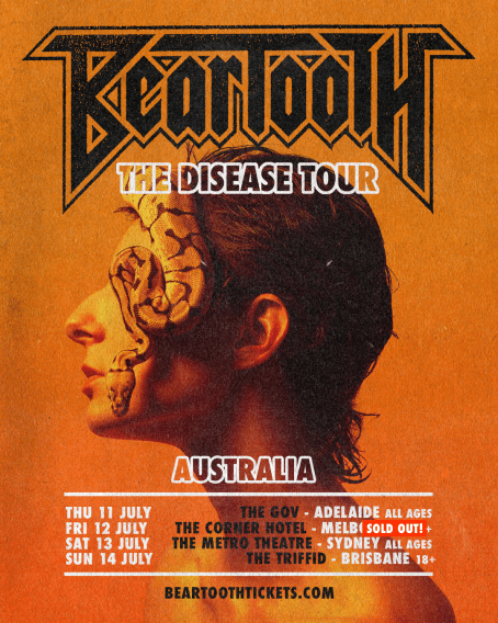 beartooth australian tour sold out meln