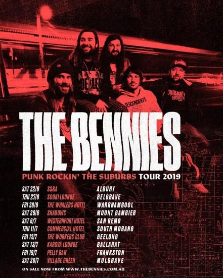 bennies punk rockin tour