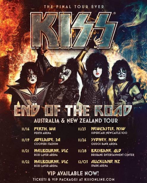 kiss tour 1