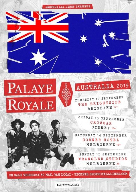 palaye royale tour