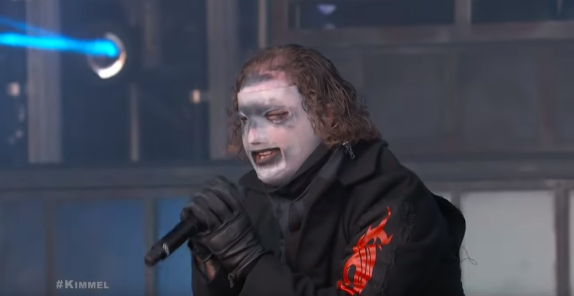 Watch Slipknot debut their new masks/songs LIVE on Jimmy Kimmel