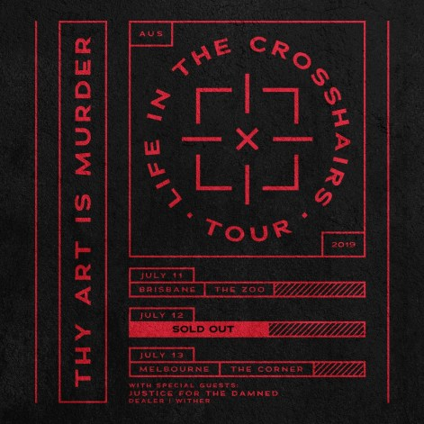 thy art tour syd sold out