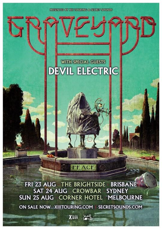 graveyard australian east cast tour