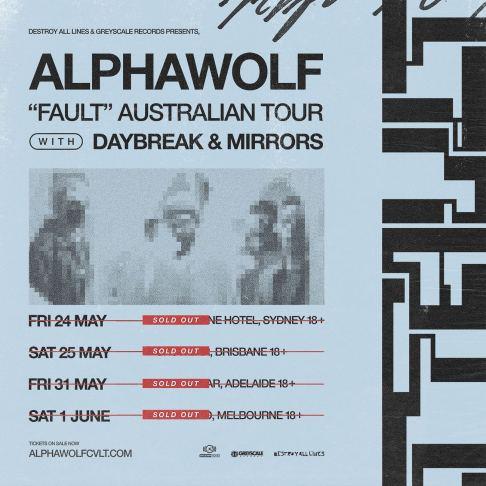 alpha wolf fault tour